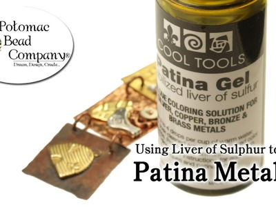 How to Patina Metal with Liver of Sulphur