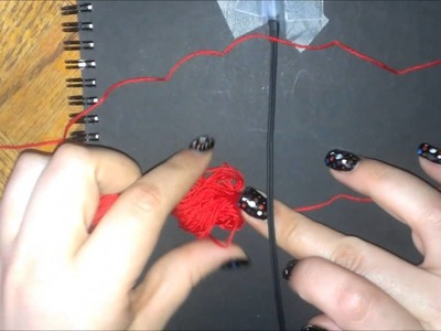 How To Wrap Ear Buds In Embroidery Floss