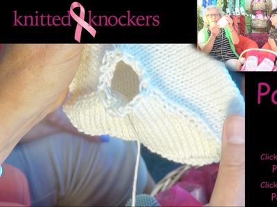 Knitted Knocker Tutorial - Part 3