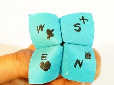 Make a Fun Paper Decision Maker - DIY Crafts - Guidecentral