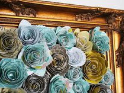 Mesmerizing diy handmade paper flower art projects to beautify your home