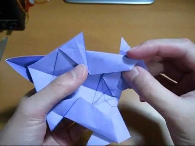 Origami Rabbit (Remake) (Reuploaded)