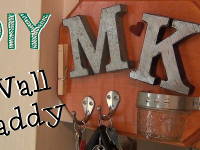 Personalized Wall Caddy ♥ DIY Gifts