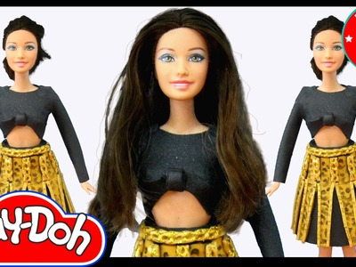 Play Doh Teresa (Doll) Nicki Minaj - Anaconda Inspired Costume Play-Doh Craft N Toys