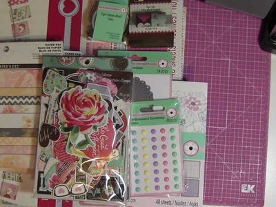 Scrapbook Paper Pad Haul From Michael's Craft Store !!!