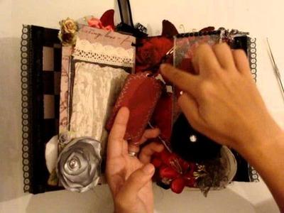 Scrapbooking Immortal Love Mini Book