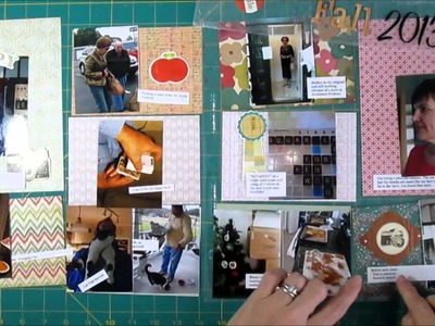Scrapbooking Process Project Life without PL Product