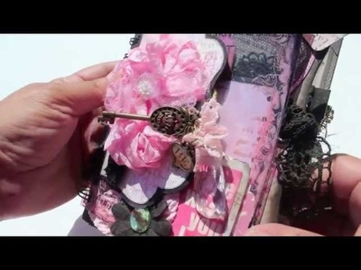 Scrapbooking SUPER CUTE Shabby Chunky Mini Album and GIVEAWAY