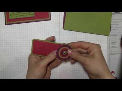 Stamping and Paper Crafts: Hidden Bookmark by Stampin Up 2010 Artisan Winner Renee Ballard