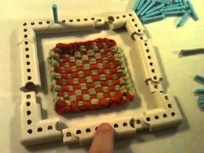 Tips & Tricks on Martha Stewart Crafts Knit & Weave Loom Kit