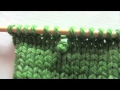 Urban Knitters' Beginner's Tutorial #8 - Fixing a Dropped Purl Stitch