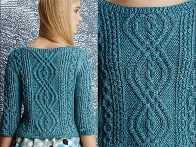 #2 Bateaux-Neck Pullover, Vogue Knitting Fall 2014