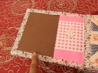 Brown Paper Bag Album DIY