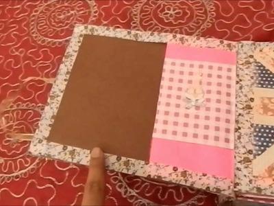 Brown Paper Bag Album DIY
