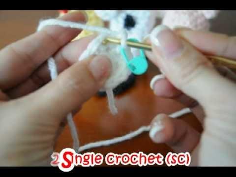 Crochet Farm Animal Finger Puppets #1
