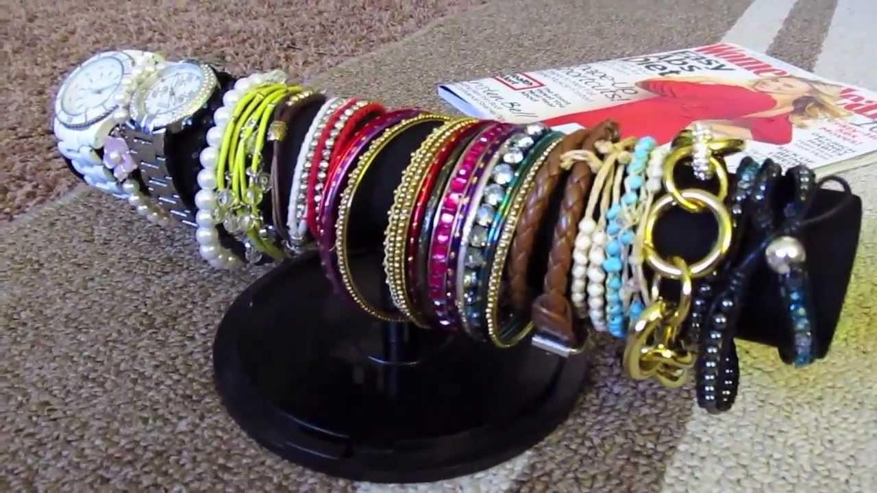 DIY Bracelet Holder - Cheap & Easy!