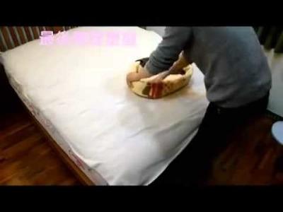 DIY Cat sleeping bed