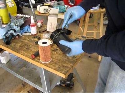 DIY - changing oil on a Porsche 996