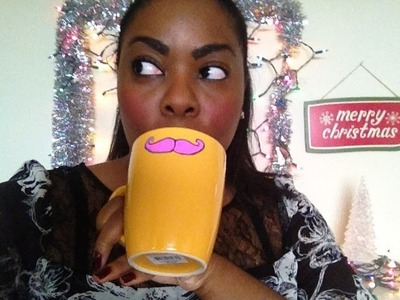 DIY Christmas Gifts: Personalized & Mustache Mugs (Day 11)