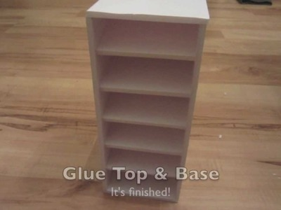 DIY Copic Ciao Storage Cubbie for less than 10$ using foam core board
