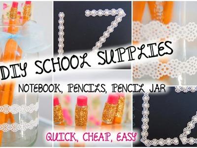 DIY Decorate School Supplies! | BACK TO SCHOOL 2014