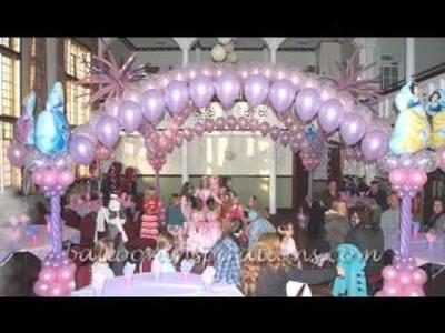 DIY Disney princess birthday party decorating ideas