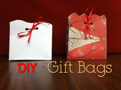 DIY Gift Bags Day 5: 12 DIYs of Christmas - keepingupwithashlyn