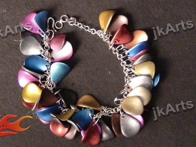 DIY How to make Bracelet - JK Arts 343
