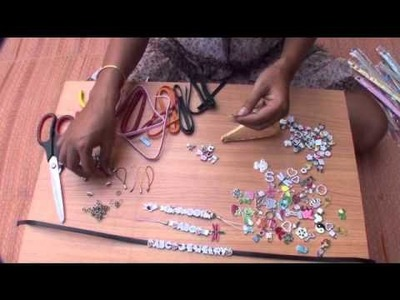DIY How to make mobile phone straps www.ABC-JEWELRY.com