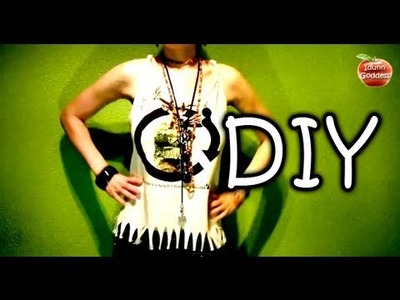 DIY How to Make Tank Top out of T-shirt in 5 minutes