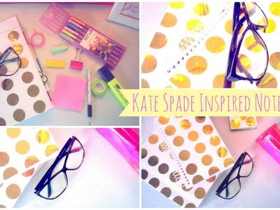 DIY Kate Spade Inspired Notebook- #MakeitinMay