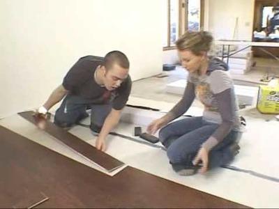 DiY Network's Sweat Equity installed Simple Floors Heritage Woodcraft's Hardwood Flooring