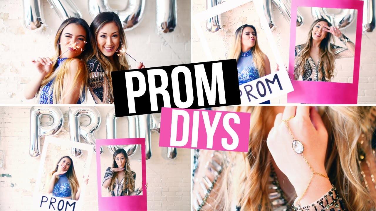 DIY Prom Photobooth Accessories & Jewelry! | LaurDIY