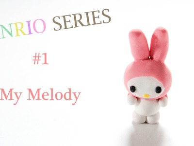 DIY ✄ [Sanrio Series] #1 My Melody Polymer Clay Tutorial