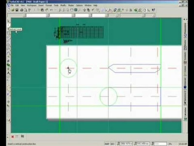 DIY Tank - Episode 3. Drawing the draft outlines. wmv