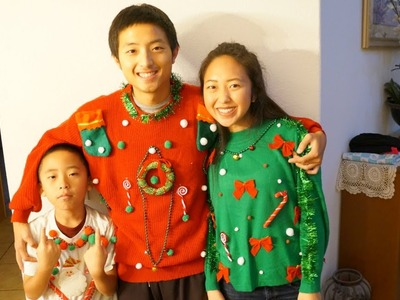 DIY Ugly Christmas Sweaters