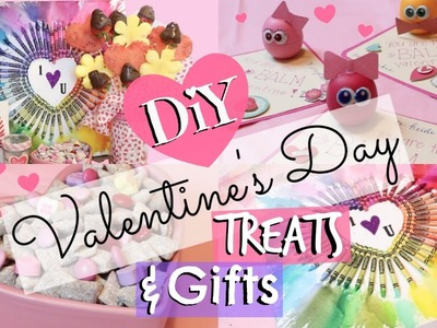 Easy Valentine's Day DIY Gifts & Treats