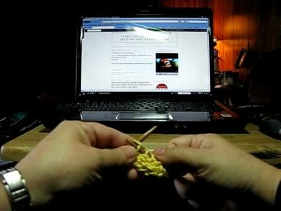 Free Knitting Video- How do Do Knit Stitch-Lynn Tucker