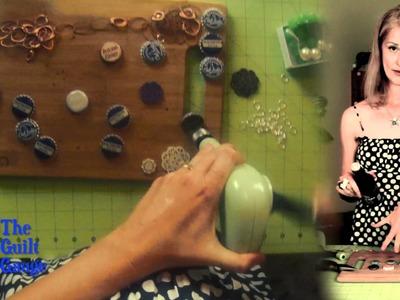 GuiltyCrafter Ep. 5 DIY Upcycled Bottlecap Bracelet