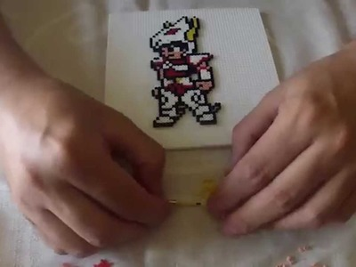 Haciendo a Seiya con Hama beads mini