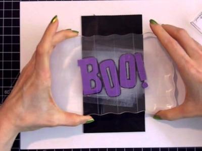 Halloween How To : Metallic Stamped + Embossed Treat Bags