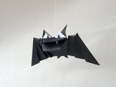 Halloween Origami Instructions: Bat (Fernando Gilgado Gómez)