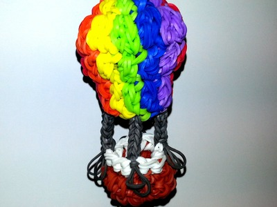 Hot Air Balloon Tutorial by feelinspiffy (HOOK ONLY) (Rainbow Loom)