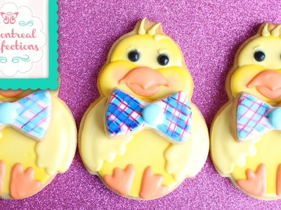 How to decorate the Wilton Easter Chick Cookie Cutter
