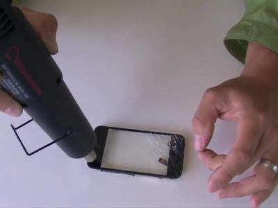 How To Fix an iPhone 3G. 3GS Broken Screen Glass DIY