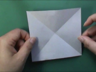 How to fold a origami box