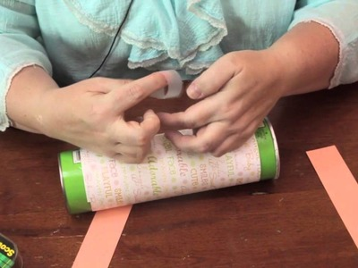How to Make a Baby Shower Vase From a Pringles Container : Jewelry & Other Cool Crafts