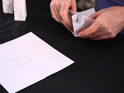 How to Make a Tall Origami Box : Origami Techniques