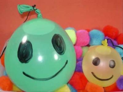 How to make a water Yo-Yo with a balloon - EP