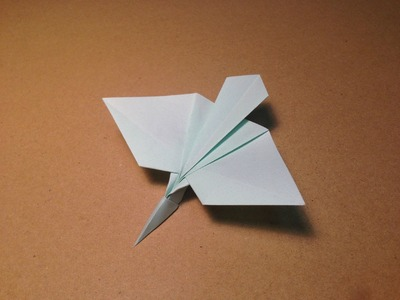 How to make an Origami Plane. Yellow Bittern